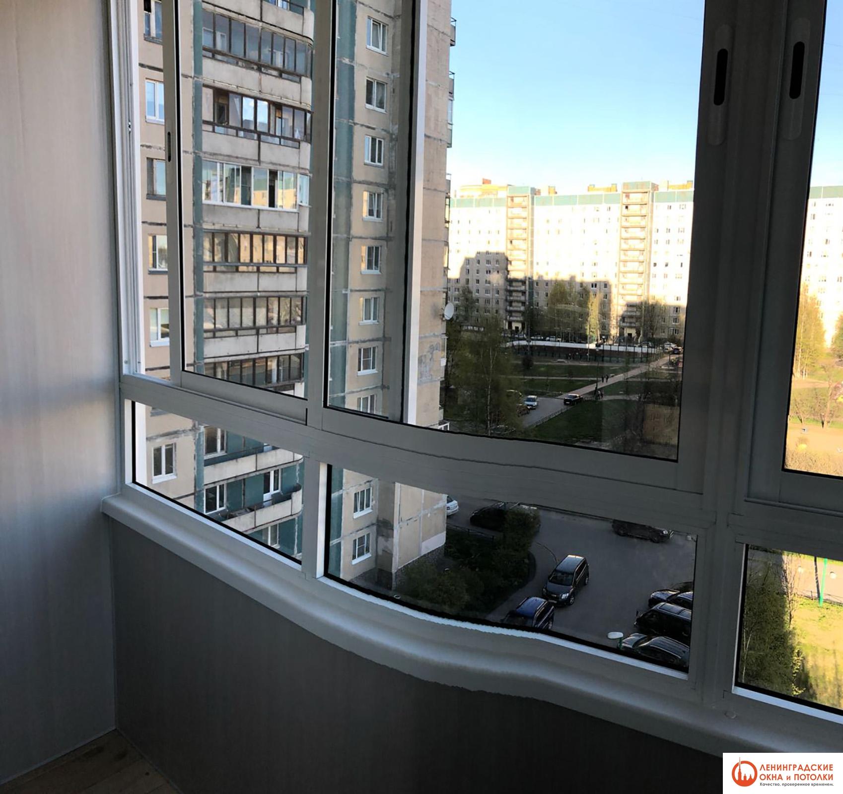 остекление балкона алюминиевым профилем цена