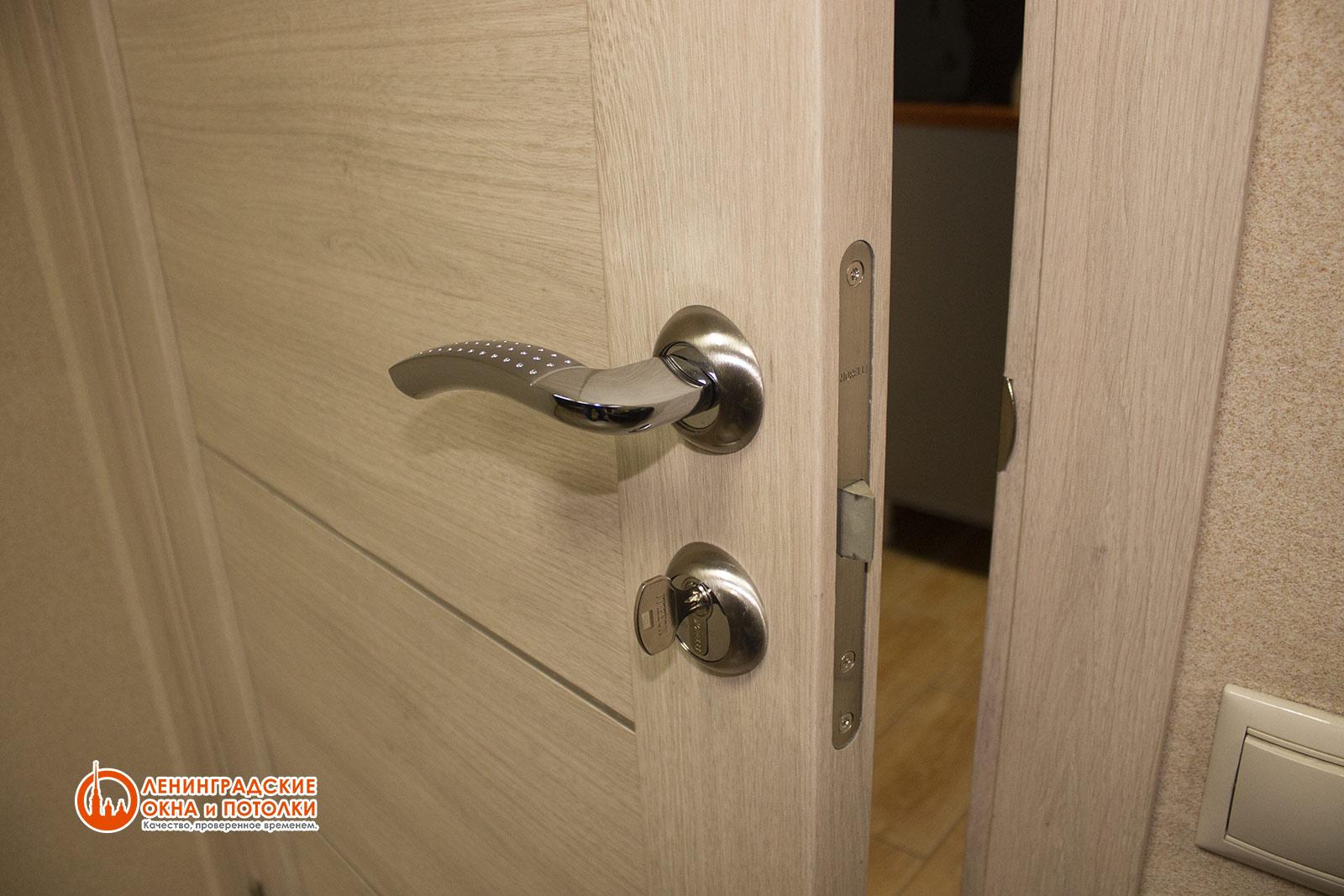 Пластиковая дверь с повышенной шумоизоляцией