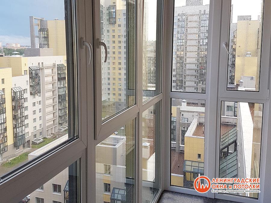 Остекление балконов и лоджий в спб недорого. узнайте как ост.
