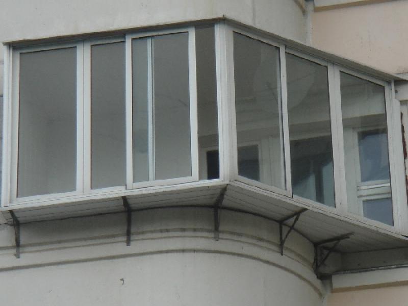 Остекление балконов и лоджий максимально допустимый вынос..