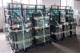 Стеклопакеты на складе