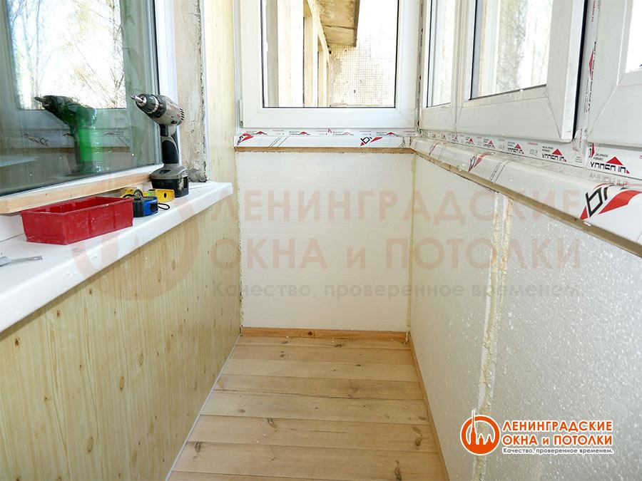 Основные этапы работ по остеклению балконов и лоджий.