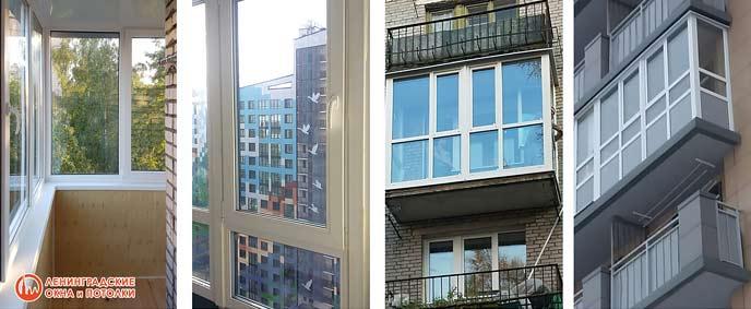 Замена холодного остекления на тёплое на балконе