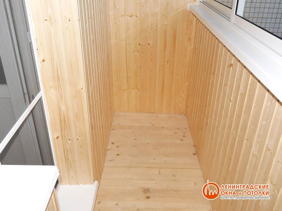 Отделка балкона в спб: фото внешней и внутренней отделки бал.