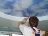 Окантовка первого уровня потолка декоративной лентой - фото 3