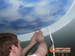 Заправка декоративной ленты по периметру первого уровня - фото 2