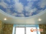 Фото установленного многоуровневого потолка