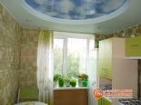Установленный многоуровневый потолок - фото 3