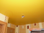 Монтаж светильника в натяжное полотно