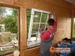 Монтаж пластикового окна в проем