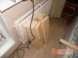 Доски для обшивки пола балкона