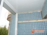 Подготовка к отделке стен балкона