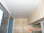 Фото выполненной отделки балкона