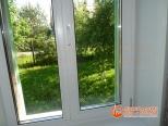 ПВХ окно в загородном доме - установка закончена