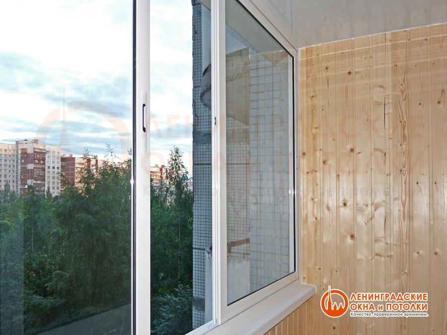 Холодное остекление балконов алюминиевым профилем provedal. .