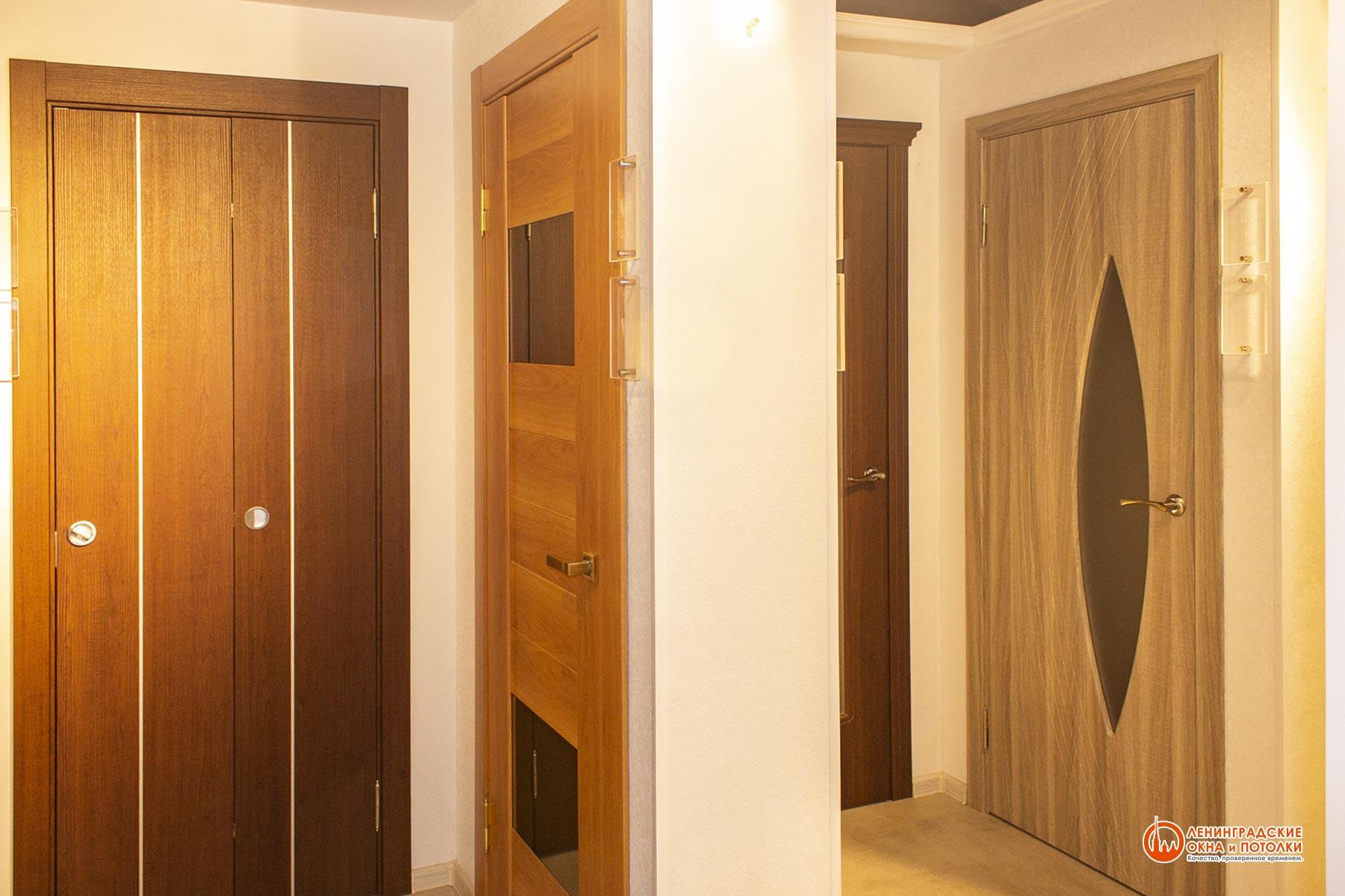 Шпонированные межкомнатные двери в Екатеринбурге от 3