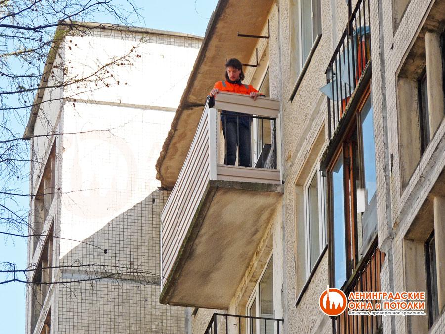 Как отделать балкон сайдингом своими руками снаружи 42
