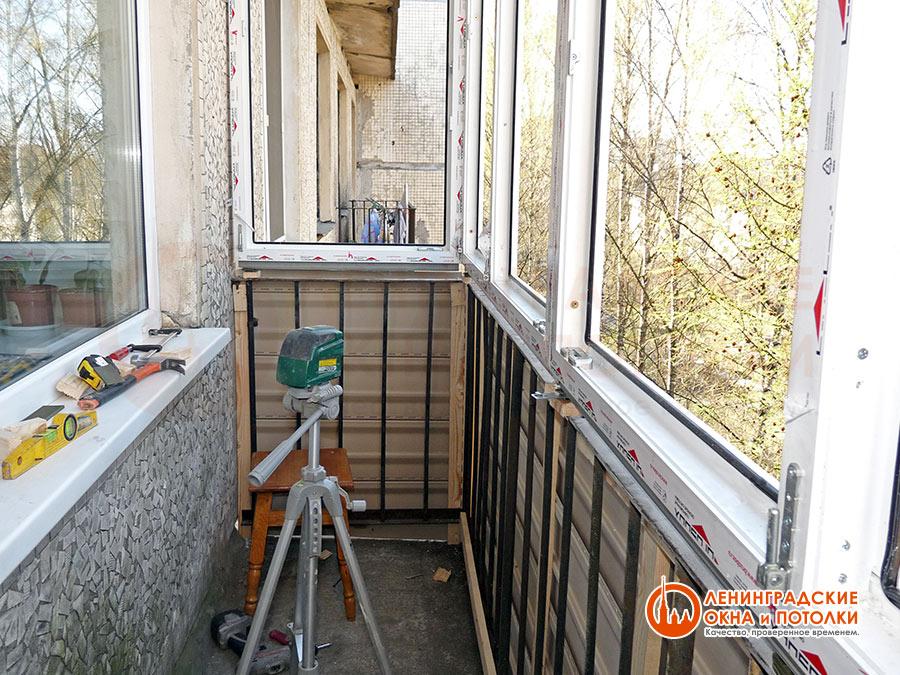 Как сделать балкон с нуля своими руками 72