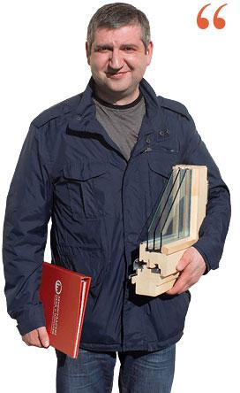 Руководитель отдела деревянных окон компании Ленинградские Окна
