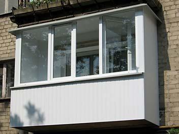 Балкон с пвх панелями