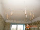Подготовка установки первого уровня натяжного потолка - фото 2