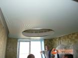 Натягивание второго уровня потолка - фото 2
