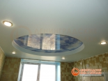 Многоуровневый потолок установлен