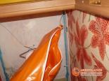 Установка натяжного полотна в туалете - фото 2