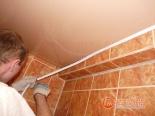 Окантовка натяжного потолка декоративной лентой- фото 3