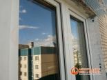 Фото установленного окна снаружи