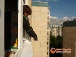 Заделка швов снаружи балкона