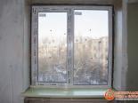 Установленный подоконник для ПВХ окна