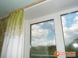 Фото 3 установленного окна на кухне после ремонта