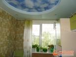 Установленное  окно - фото с ремонтом кухни