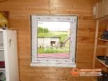 Процесс монтажа ПВХ окна на веранде