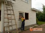 Этап установки окна в проем