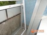Профиль Provedal перед установкой на балконе
