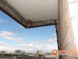 Подготовка балкона к остеклению Slidors
