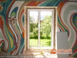 Этап 2 - монтаж пластикового окна в доме