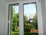 Установленное ПВХ окно в Гатчине