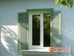 Установленное окно - вид снаружи