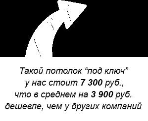 матовые, глянцевые, сатиновые натяжные потолки в СПб