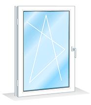 Ремонт одностворчатого окна