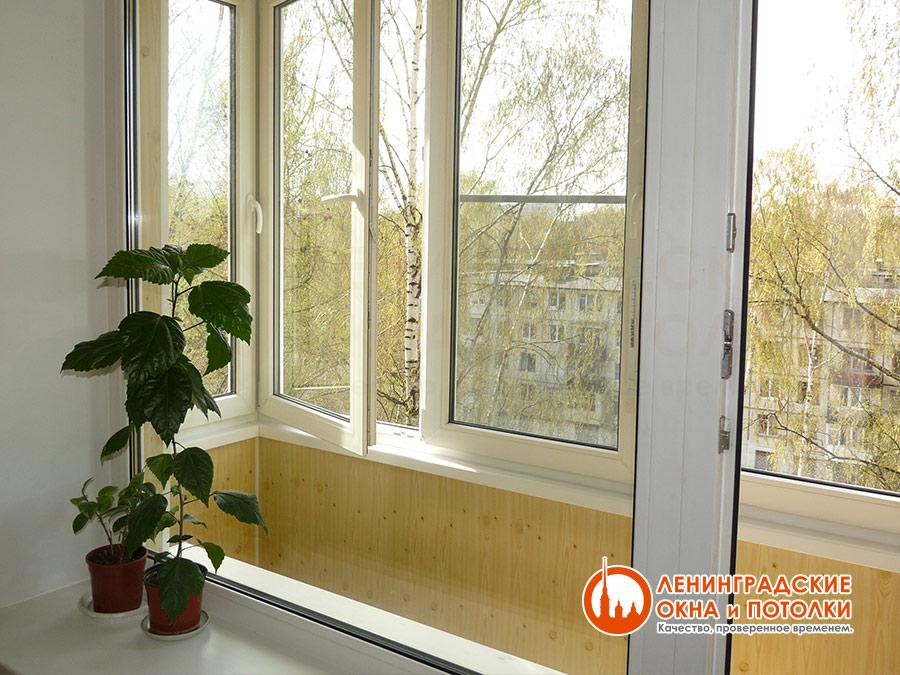 Ремонт балкона - внутренняя отделка